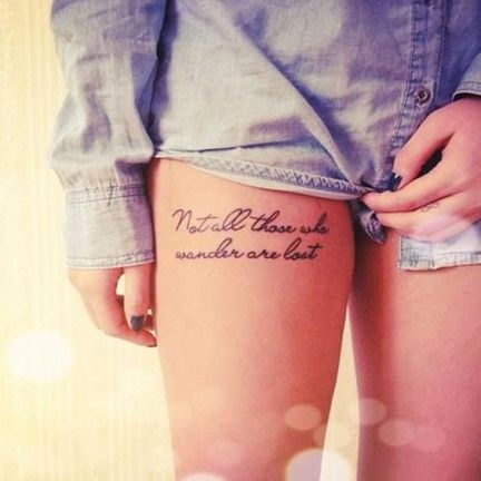 Best 60 Sexy Thigh Tattoo Designs and Ideas for Girls: