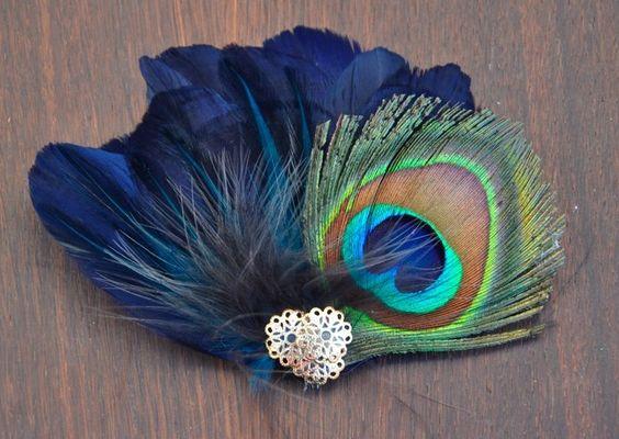 Peacock Fascinator Peacock Wedding Inspiration