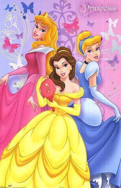 Disney Posters DISNEY PRINCESS POSTER Disney