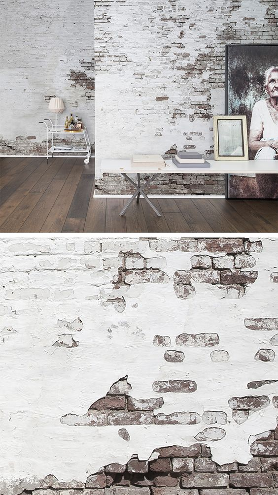 WALL MURAL | WALLPAPER | WHITE | DISCOVER | CURIOUS | EXPLORE | EXPLORER | TORN-DOWN | TREASURE HUNT | SECRET PLACES | MYSTERIOUS SPACES | ODD | BEAUTIFUL | PHOTO WALL MURAL | BRICKS & TILES | TAKE A SECOND LOOK | LOOK CLOSER | BRICKS WALLPAPER | TORN-DOWN WALL | URBAN CITY WALL: