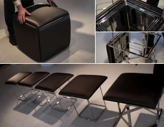 5 Chairs In One Cube Resource Furniture Smart