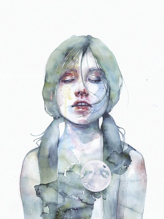 The Smallest Thing of the Universe by Agnes Cecile | Eyes On Walls: