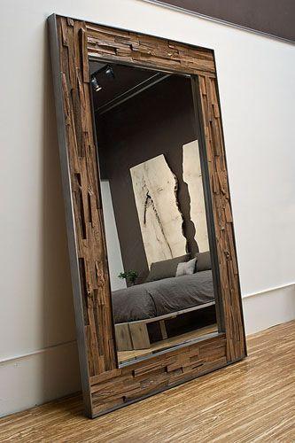 John Houshand Floor Mirrors Standing Mirror And Rustic