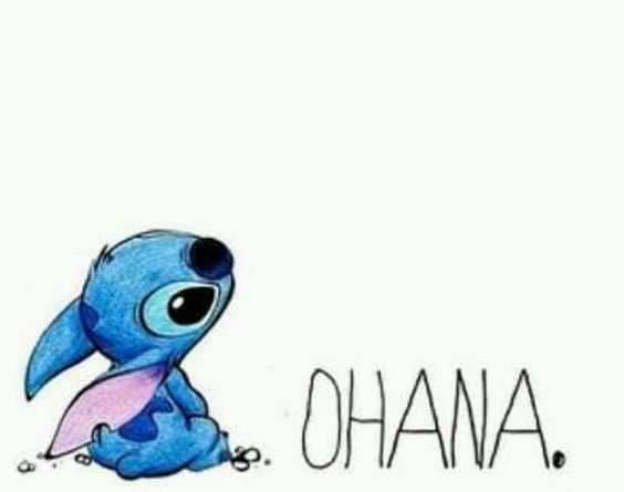 ohana means family. family means no one gets left behind