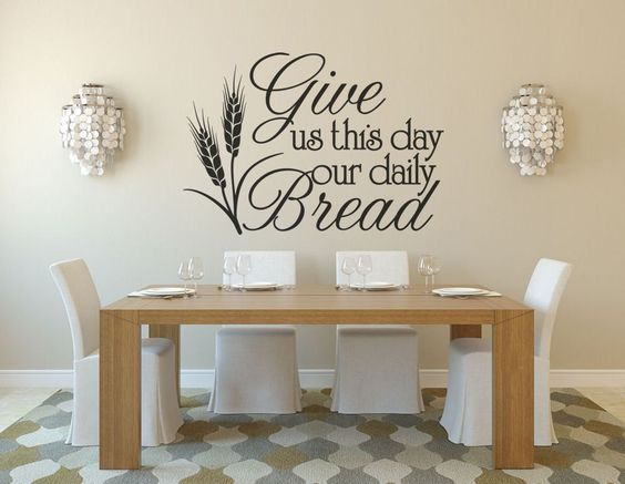 kitchen decor kitchen wall decals wall decal give us on wall stickers for kitchen id=50734