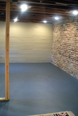 faux brick walls the o jays and home renovation on pinterest on concrete basement wall paint colors id=59340