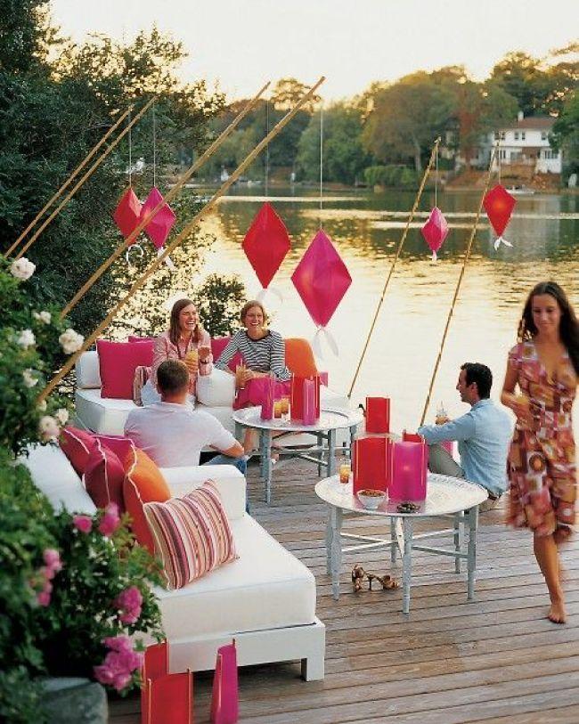 Feest styling | Feestje in de tuin - Woonblog StijlvolStyling.com