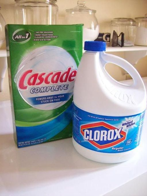 Image result for bleach and detergent pinterest