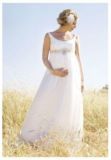 noiva grávida
