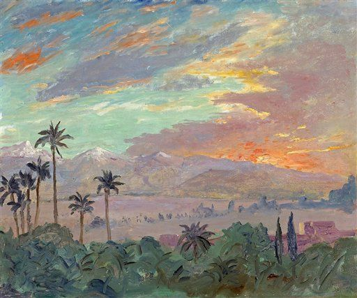 Churchill Painting: