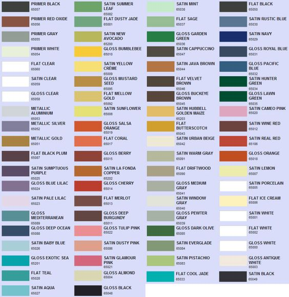 all of valspar spray paint colors oh the possibilities on valspar paint color chart id=26017