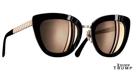Chanel Quilted Crush Sunglasses Spring 2017 Collection #Fashion #Sunglasses #Luxury