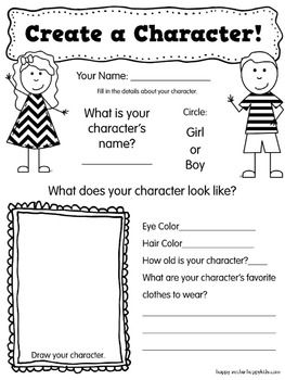 Realistic Fiction Graphic Organizers Free Use When