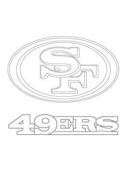 San Francisco 49ers Coloring Pages San Francisco 49ers