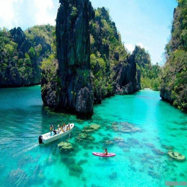 Coron Island is the third-largest island in the Calamian Islands in northern Palawan in the Philippines. The island is part of the larger municipality of the same name. Wikipedia: