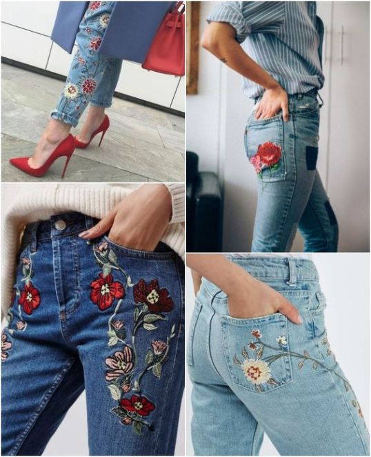 Como usar - Jeans Bordado - Tendência 2016 - Futilish: