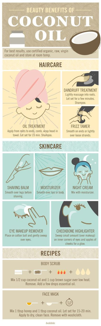 These are the best coconut oil uses!