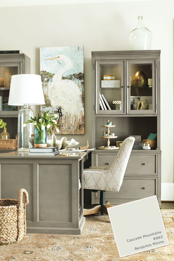 paint colors offices and home office on pinterest on color schemes for an office id=99194