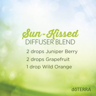 """Sun Kissed"" Essential Oil Diffuser Blend:"