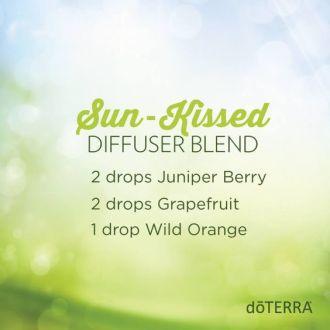 """Sun Kissed"" Essential Oil Diffuser Blend:"