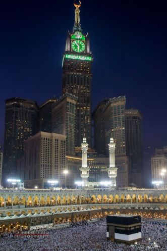 Abraj Al Bait and the Grand Mosque