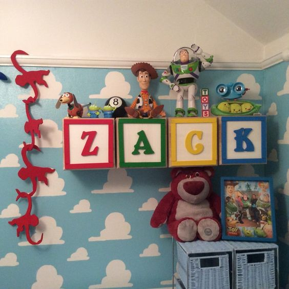 Toy Story themed nursery - I can't even begin to explain how much I love this!: