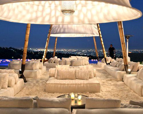 creative event design, decor and tenting from Gypset in LA | via junebugweddings.com: