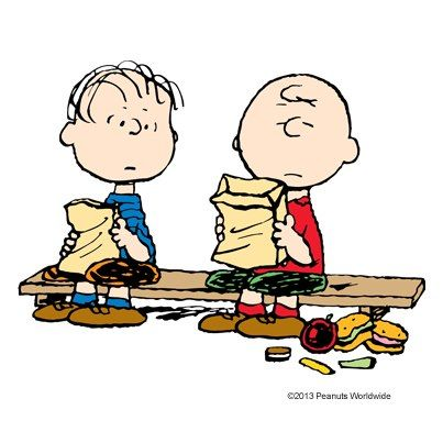 Charlie Brown I Think Lunchtime Is About The Worst Time