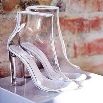 Image result for clear heels