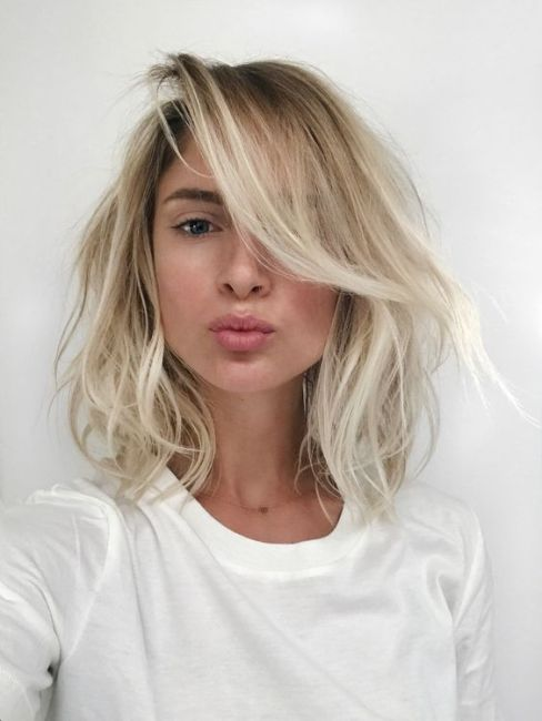 Keep it natural with your long bob hairstyles!