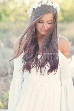 Arianna, with black hair.: