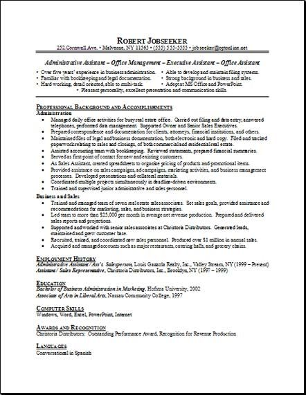 secretary receptionist resume resume sample