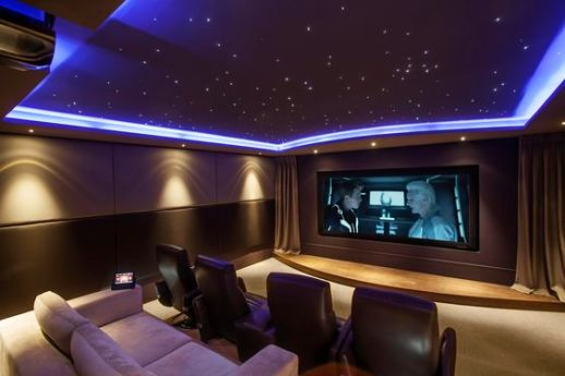 themed home cinema