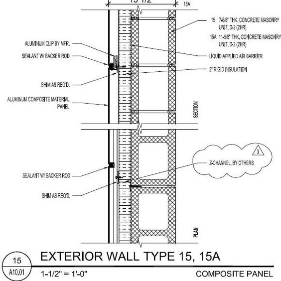 wall types architecture pinterest on wall types id=90885