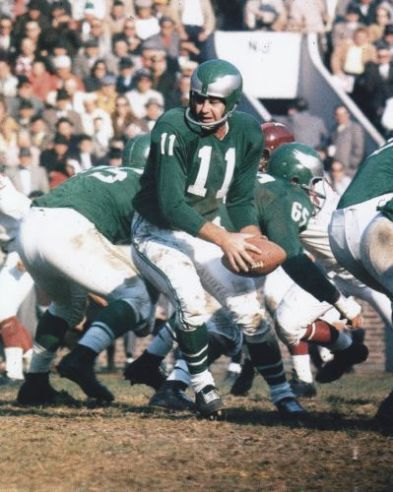 (Hall of Fame quarterback Norm Van Brocklin)