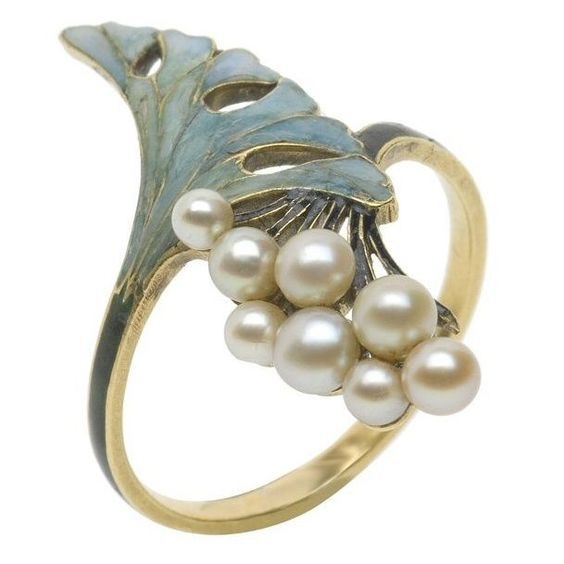 Ring, René Lalique (1860-1945). France ca 1900.: