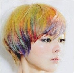 colorful hair looks like chalk hair pinterest colorful hair short hairstyles and
