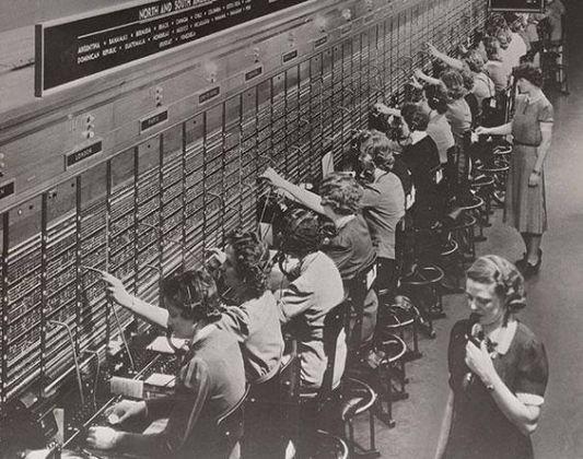 Telefonistas - profissão extinta??: