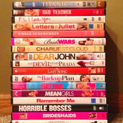A movie marathon is one of many ideas for celebrating new year's eve at home!