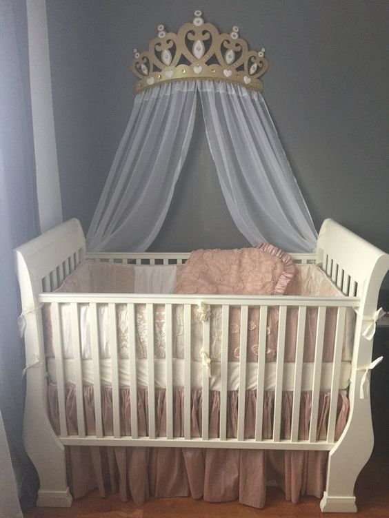 Canopies Wall Decor And Cribs On Pinterest