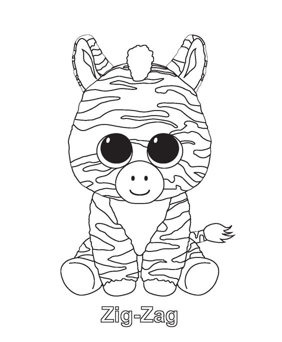 beanie boo coloring pages  birthday ideas  pinterest