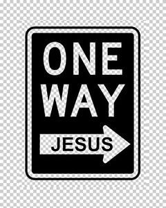 Image result for clipart one way Christianity
