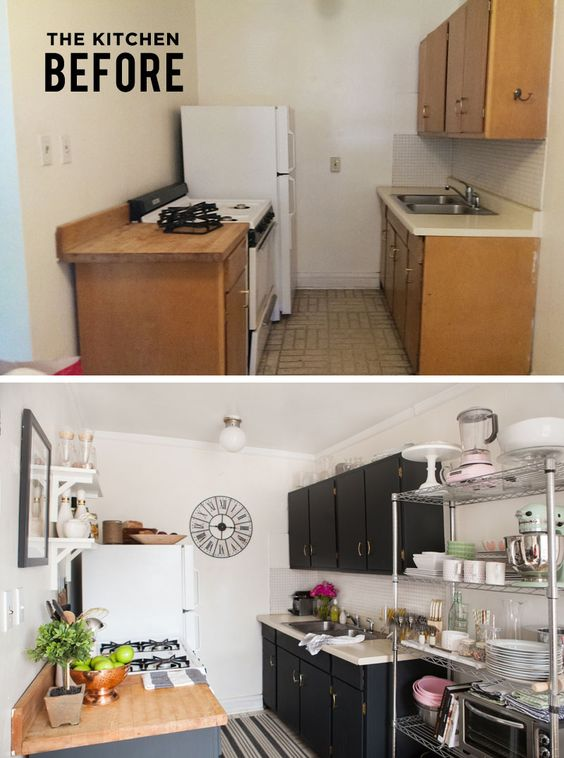 Kitchen Studio Apartment Ideas Diy Rental Decor