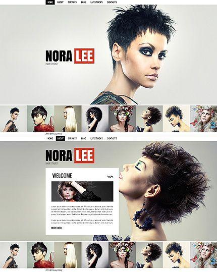 Nora Lee Moto CMS HTML Templates By Di Perfume PrestaShop Website Pinterest Adobe