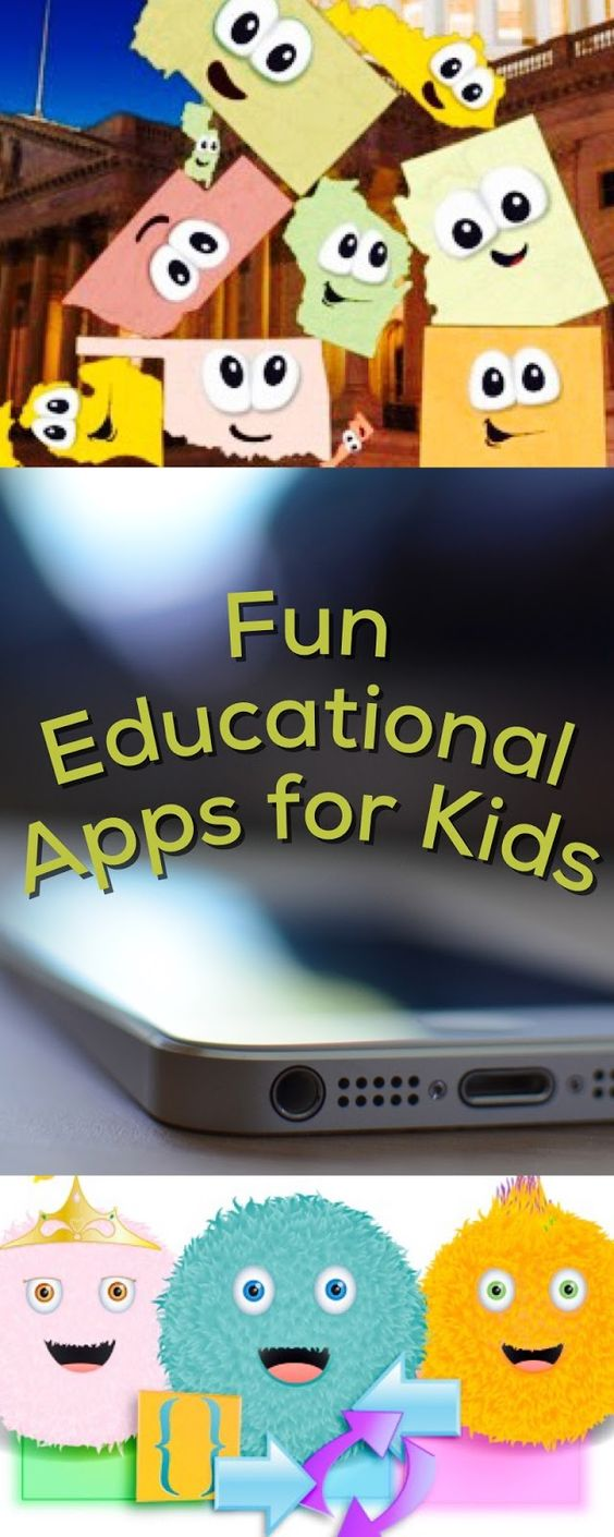 Fun educational apps for kids, good ideas for iPhone, iPad and Android devices!: