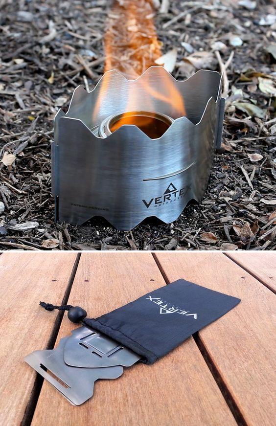 Vertex Ultralight Backpacking Stove: