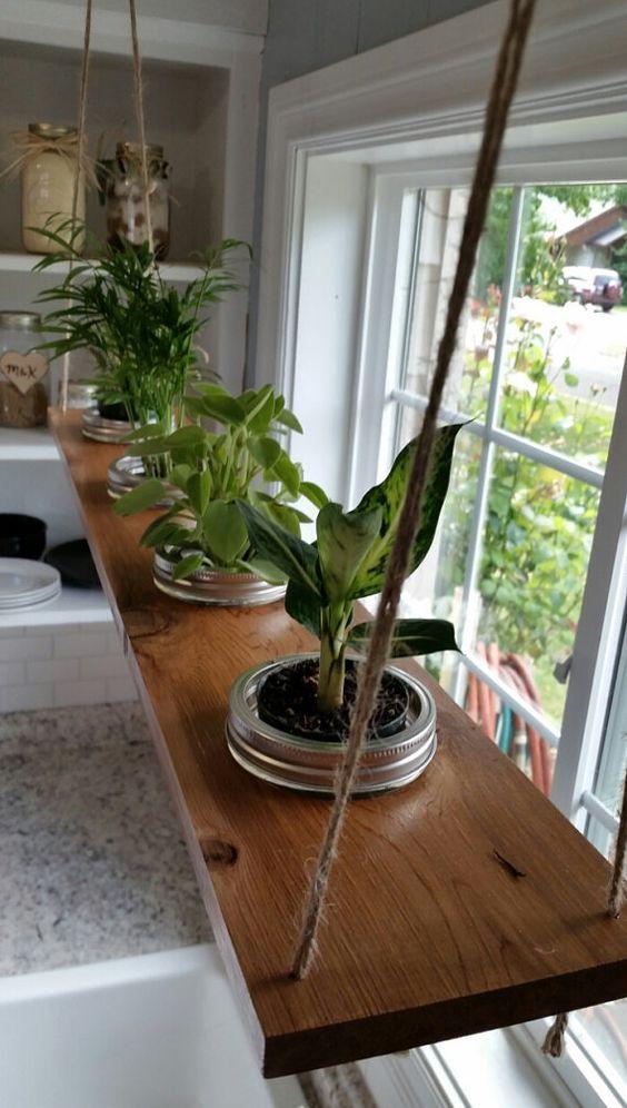 hanging mason jar planter 3ft four 16oz mason by on indoor herb garden diy wall mason jars id=52621