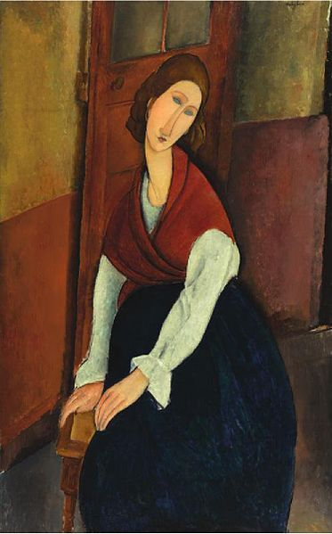 Amedeo Modigliani - Portrait de Jeanne Hébuterne.jpg: