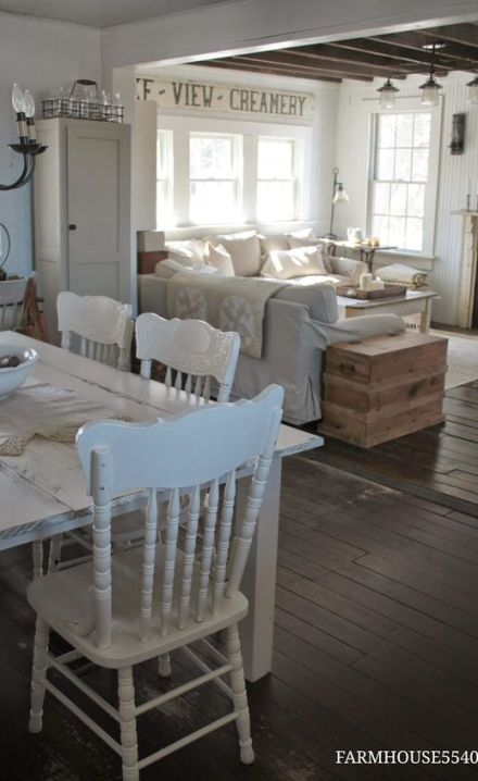FARMHOUSE 5540: Farmhouse Friday ~ What Farmhouse Style Means to Me. Her home is absolutely beautiful.: