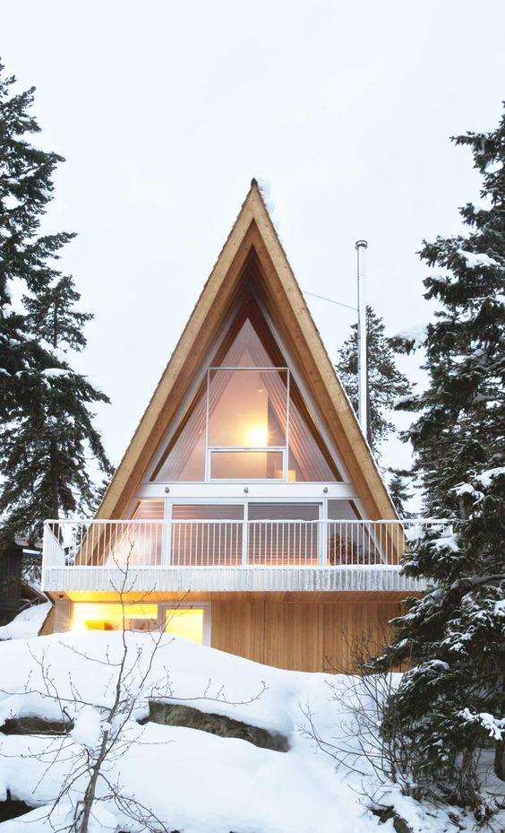 The Mid-Century A-Frame – Modern Tiny House